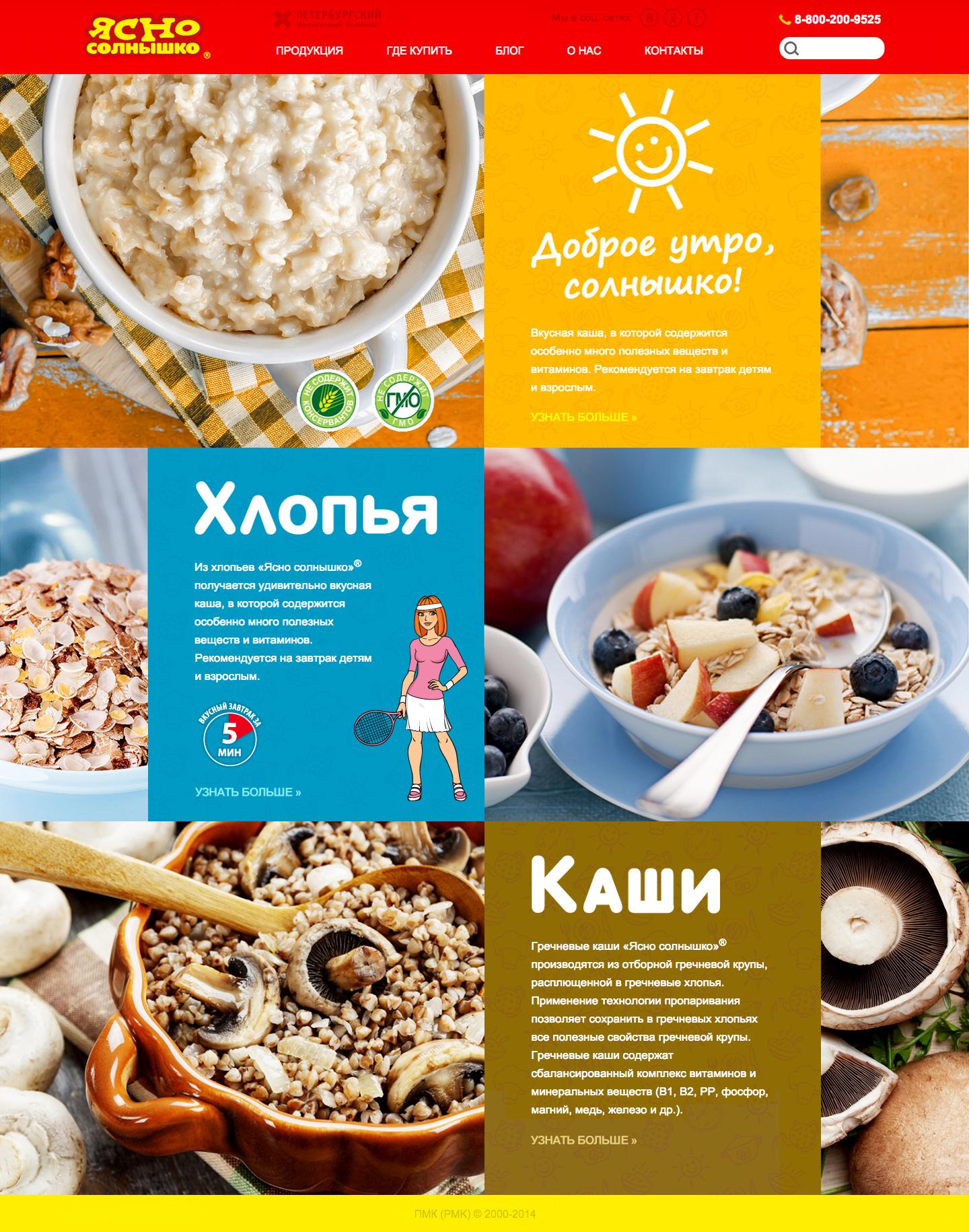 Yasno Solnyshko, Website, Design, Nikita Konkin