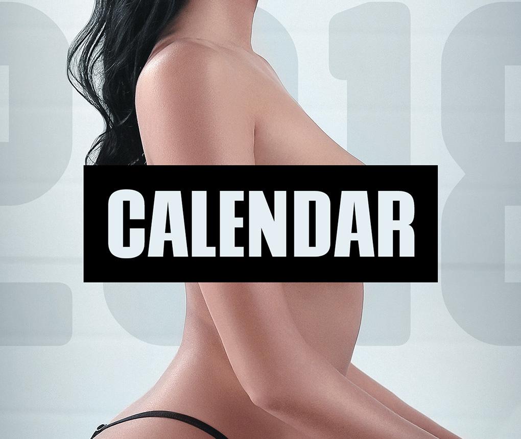 NGK Naked Calendar 2018